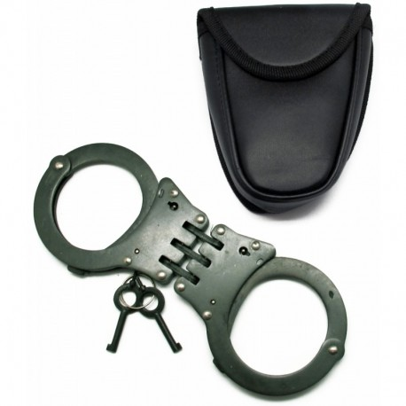 Hinged Handcuffs BLACK