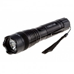 CHEETAH 10 MIL VOLTS FLASHLIGHT STUN GUN BLACK