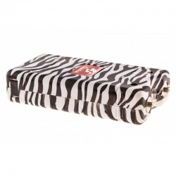Cheetah 10 Million Volts Stun Gun with Led Light Rechargeable Zebra