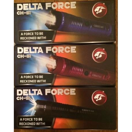 50 Units Set Wholesale Lot Assorted Stun Guns 10 Million Volt Rechargeable, LED Flashlight CH-51 3 SET