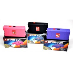 12 Cheetah Stun Gun 10 Mil Volts W/ LED Light 3 Colors Mix - Wholesale Lot