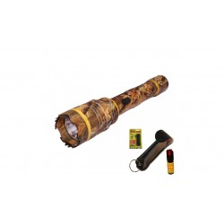 DEFENDER CHEETAH 10 MILLION VOLTS FLASHLIGHT STUN GUN CAMO