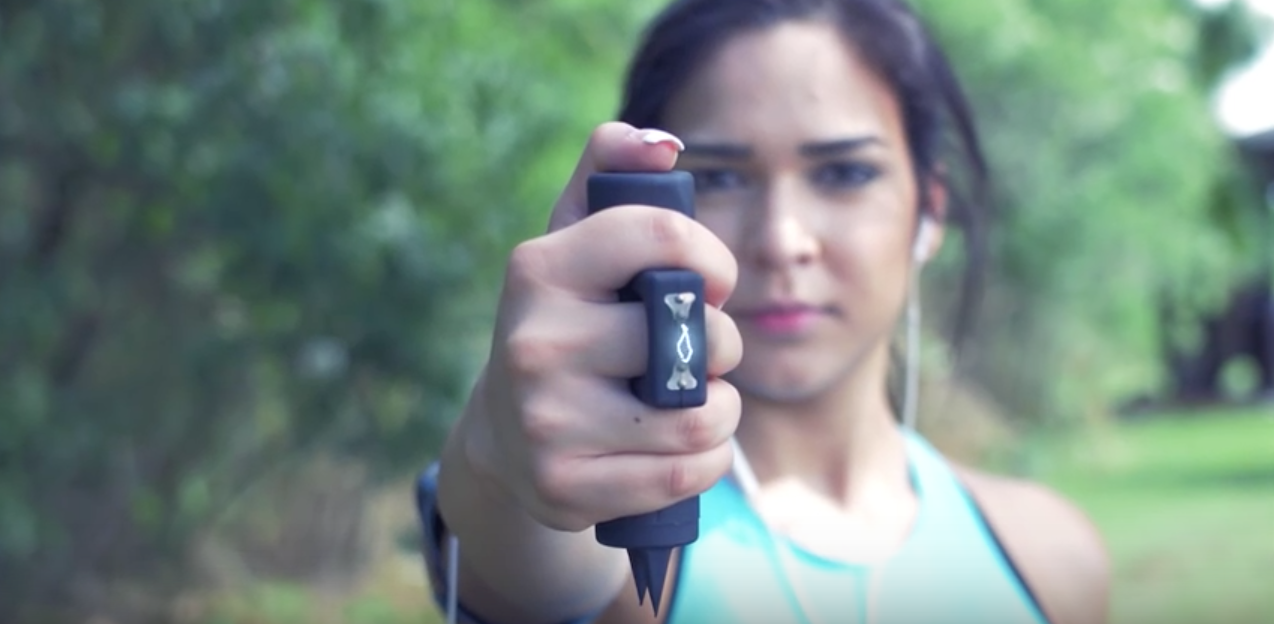 Jogger Stun Gun Video